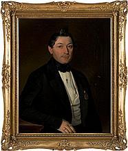 ALBERT THEER 1815 Johannisberg (Österreichisch-Schlesien) - 1902 Wien Portr
