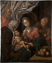 HANS VON AACHEN 1552 Köln - 1615 Prag (Nachfolge des 17. Jh.) Die Heilige F