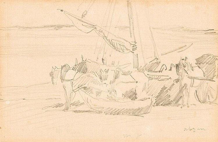 MANET, ÉDOUARD 1832 Paris - ebenda 1883