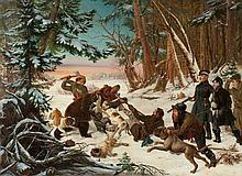 OTTO GRASHOF 1812 Prenzlau - 1876 Köln 'BÄRENHETZE'