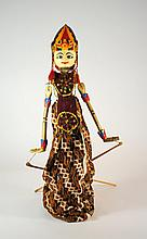 Burmese Myanmar Mandalay 23 Inch Marionette Puppet of Woman