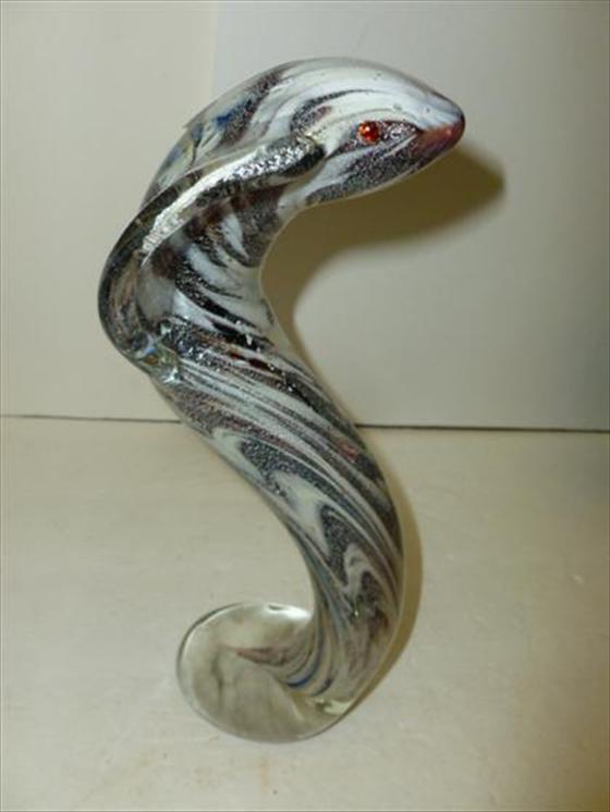 Murano glass - Cobra snake