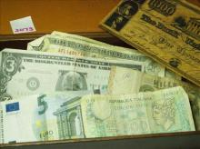 ASSORTED PAPER CURRENCY-REAL & NOVELTY, US&FOREIGN
