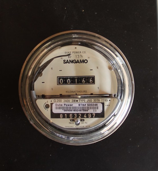 342. Sangamo Watthour Meter