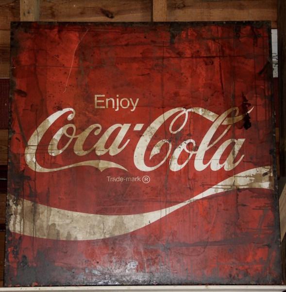 341. Coke Sign