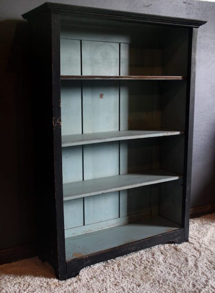 336. Primitive Four Shelf Bookcase