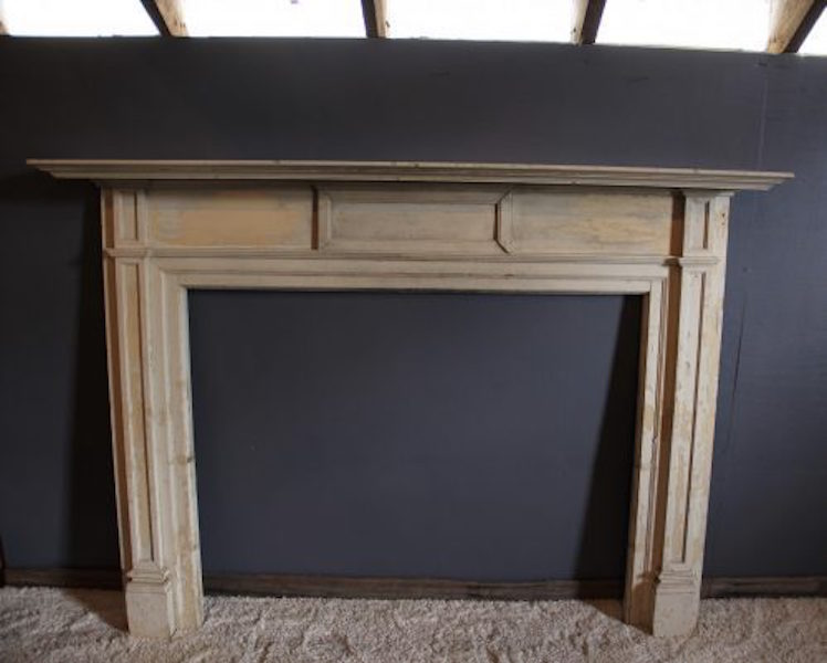 332. White Yellow Pine Mantle