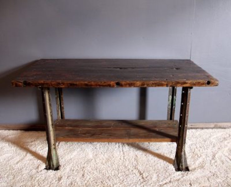 331. Industrial Factory Table
