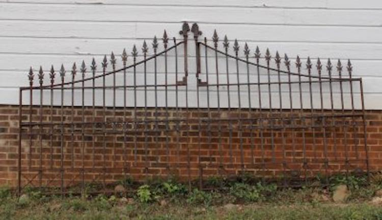 330. Pair of Early Iron Gates