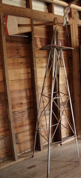 325. Steel Base Yard Windmill