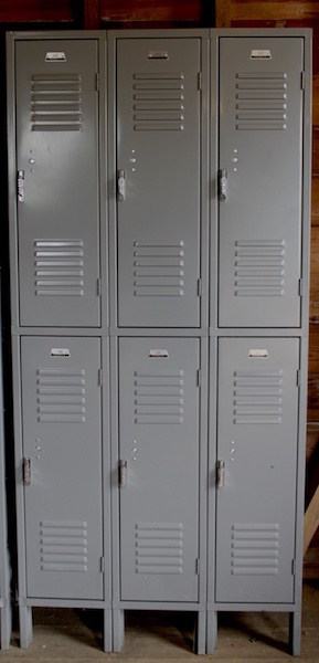 318. One Set of Six Door Lockers