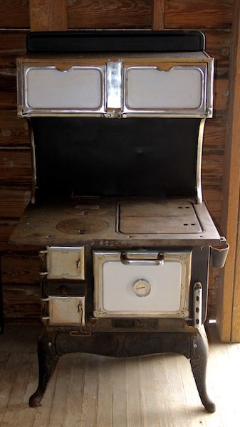 314. Cast Iron Wood Burning Cook Stove