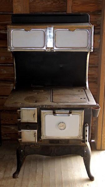 314. Cast Iron Wood Burning Cook Stove