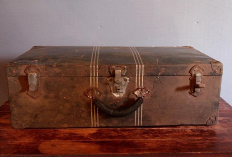 302. Rare Metal Suitcase