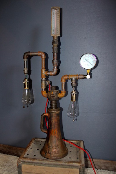 299. Steampunk Lamp