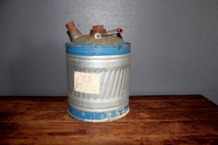 288. 5 Gallon Galvanized Oil Can