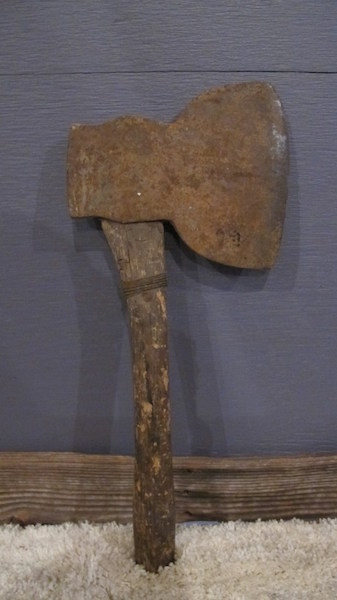 234. Primitive Broad Axe Broadaxe