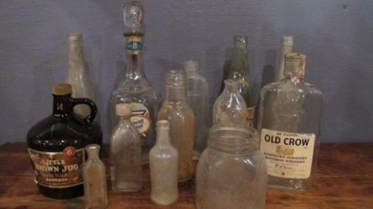 215. Eleven Assorted Vintage Bottles