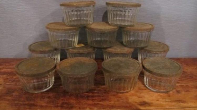 212. Set of Vintage Hazel Atlas Jelly Jars