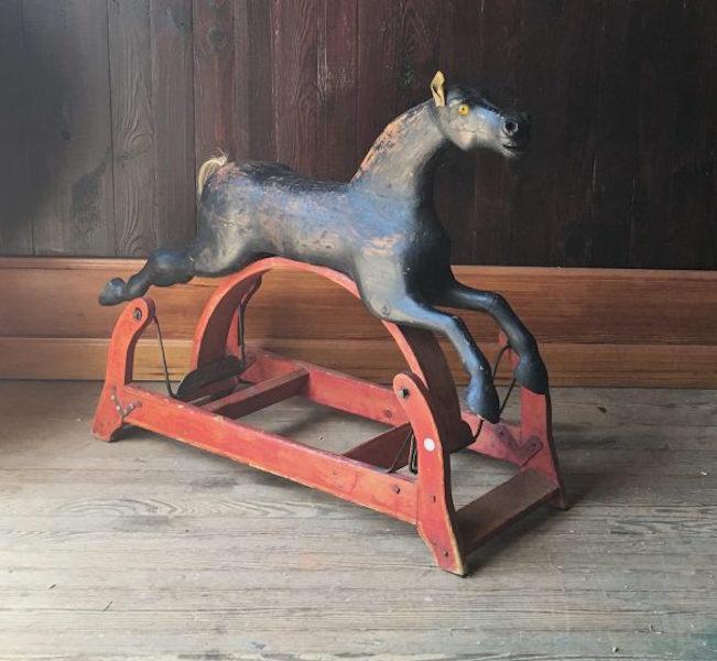 186. 19C American Rocking Horse