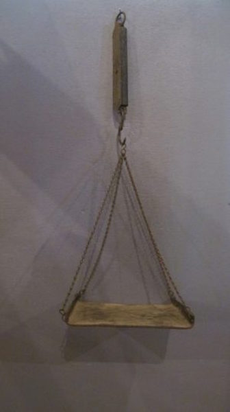 180. Brass Chatillion Hanging Scale