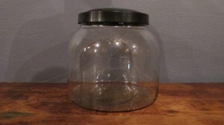 84. Country Store Style Cracker Jar