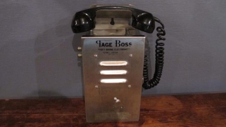 87. Page Boss Mine Paging Phone