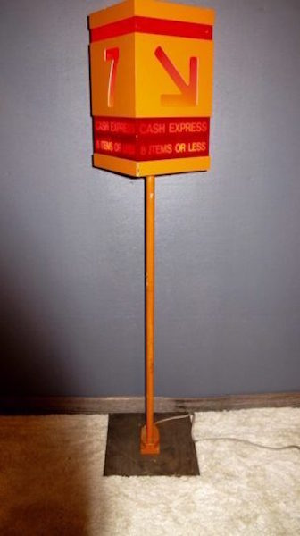 96. Groovy Mid-Modern Checkout Lamp
