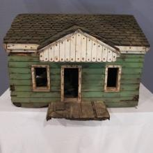 7. Unique Folk Art Early 20C Doll House
