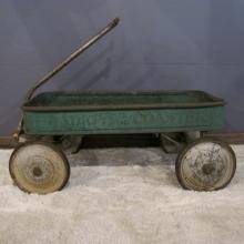 17. Rare Child's Wagon,