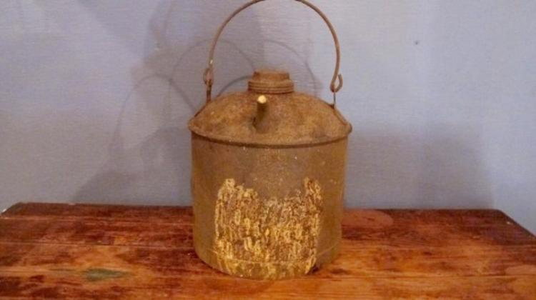 41. Kerosene Can with Bail Handle