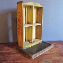 45. Coca-Cola Crate Folk Art Curio