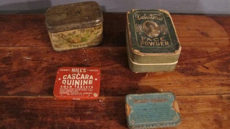 153. Four Vintage Advertising Tins