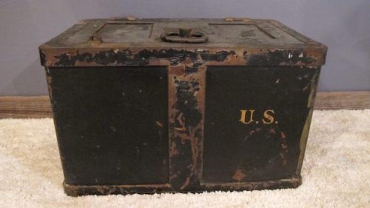 133. Circa 1941 Strong Box/Safe