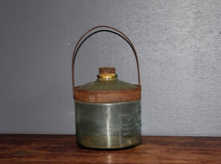 269. Antique Kerosene Stove Bottle