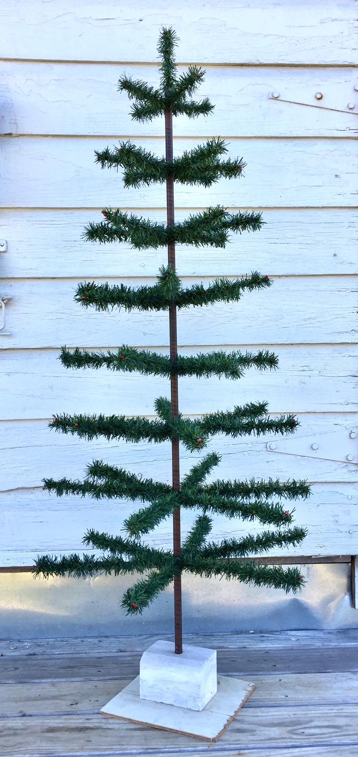 267. Vintage Feather Tree