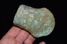 """3.3/8"""" Socketed Bronzed Copper Celt or Axe, Roman"""