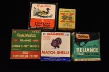 Lot of Antique / Vintage Shotgun Shell Boxes, No ammo included