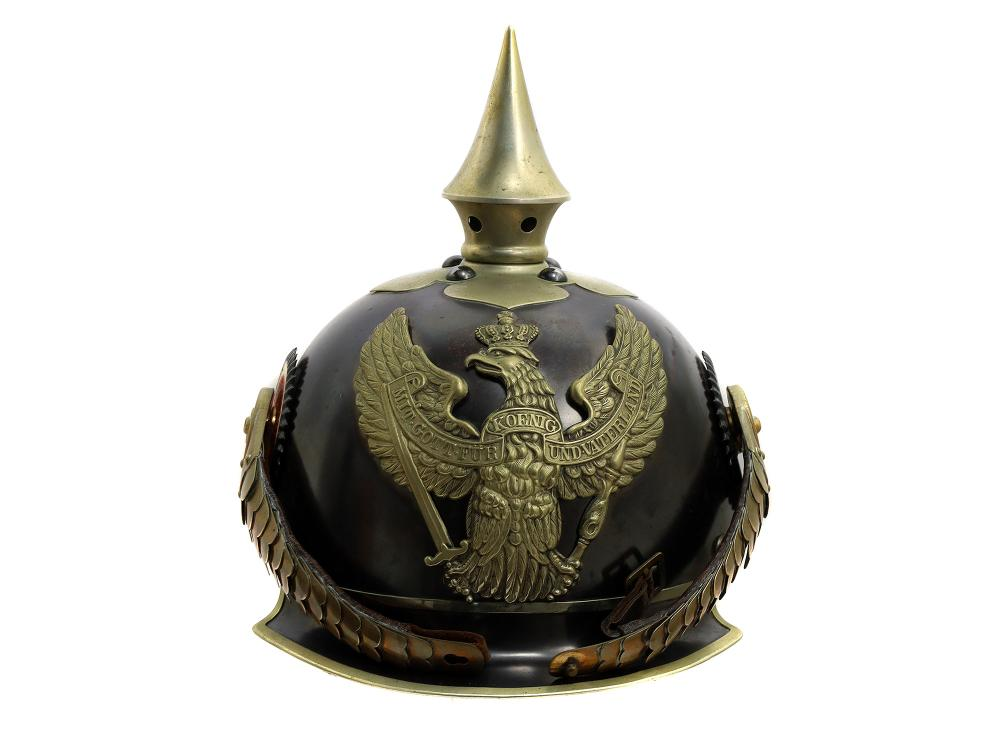 А WWI PRUSSIAN IMPERIAL SPIKED HELMET, M1905
