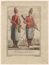 19TH CEN. COLOR LITHOGRAPHS OF CARIE