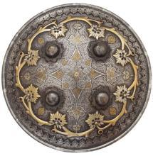 SHIELD INDO-PERSIAN, 19TH C.