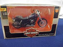 Vintage Die Cast 1:18 Scale Harley davidson Super Glide