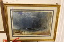 19th cent. English School: Watercolour