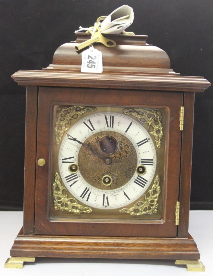Clocks 20th Cent Dutch Reproduction Bracket Clock Made In