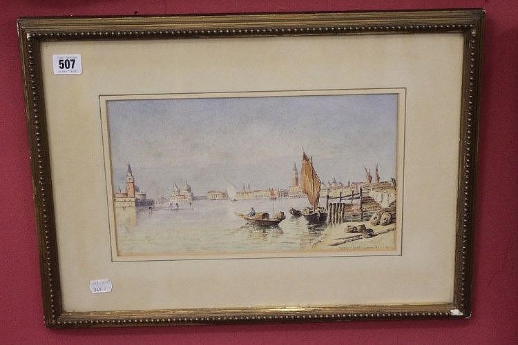 Joannes Vervleot Jnr. watercolour of Venice Veneti