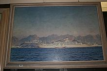"20th cent. Maritime prints: Colin Verity ""Dwarka"""