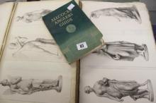 Scraps: Album of scraps of famous paintings and sculptures bound copies of