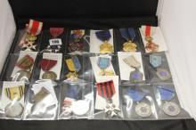 WW1 Nursing: Belgian and French Nursing awards including Order of Leopold 1
