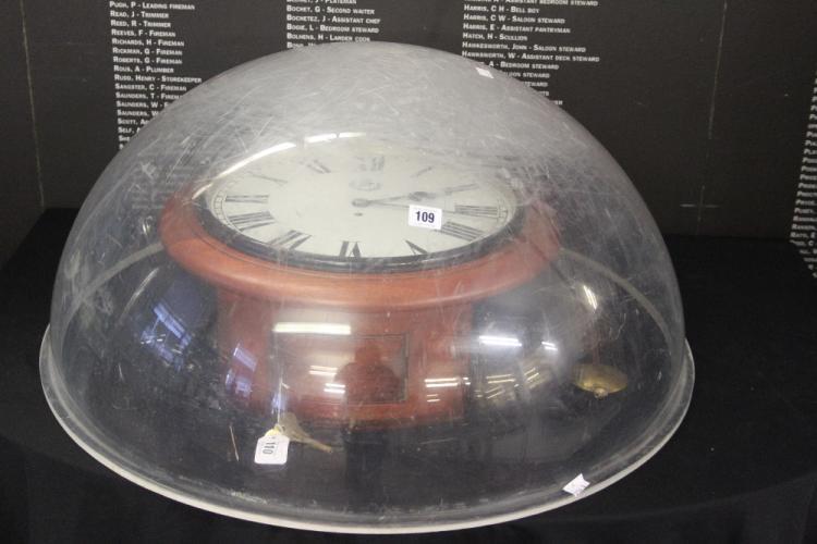 RAF/Militaria: WW2 era perspex astro dome believed Ex Lancas
