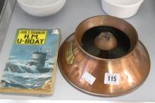 Third Reich/WW2: Rare souvenir from U570, a German U boat captured in 1941